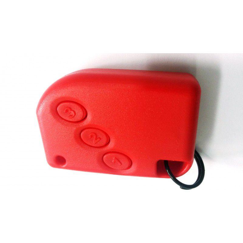 Controle Portão Eletrônico 433Mhz - Compatec (Vermelho)