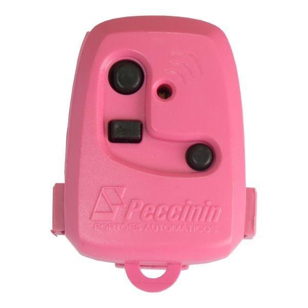 Controle Portão  Eletrônico Peccinin (Rosa)