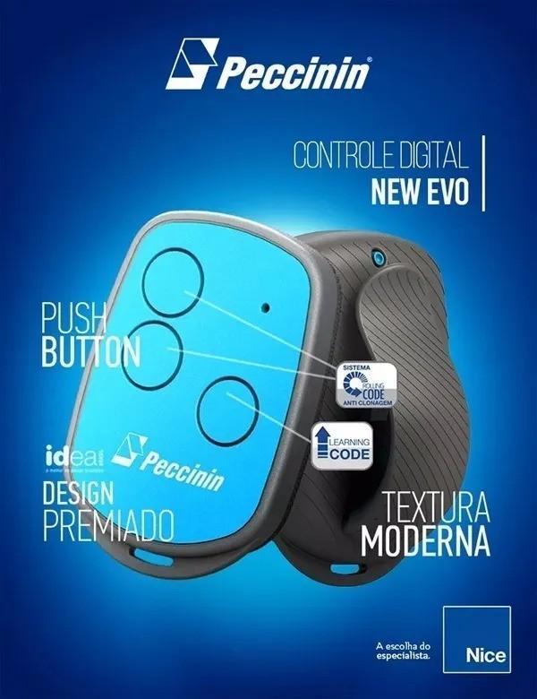 Controle Remoto Digital Peccinin New Evo