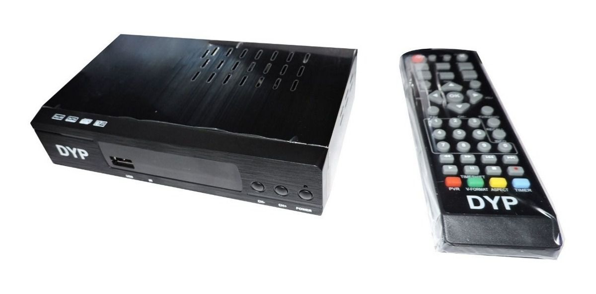 Conversor TV Digital - Set Top Box DYP