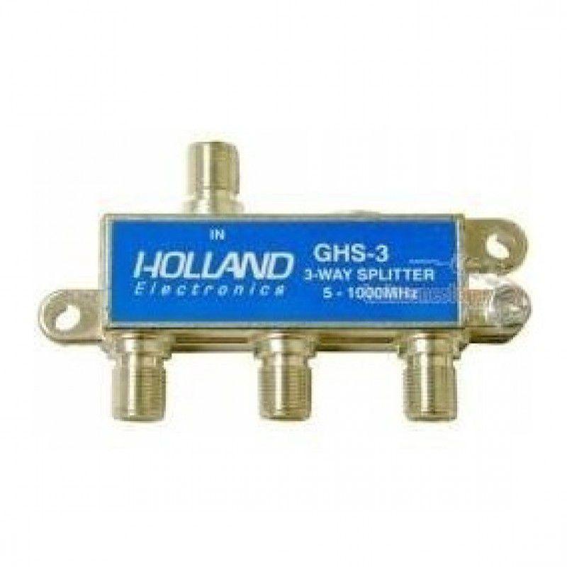 Divisor 3 Saídas Antena Digital - 5 - 1000MHz