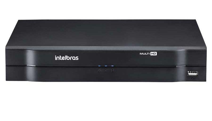 Gravador  Stand Alone (DVR  ) Full HD Para 8 Câmeras de Segurança Intelbras MHDX 1180