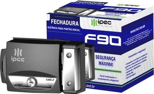 Fechadura  Elétrica Para Portão Social IPEC - F90