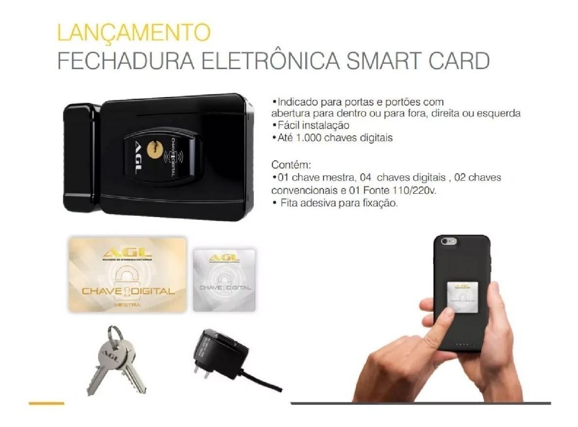 Fechadura Eletrônica Smart Card