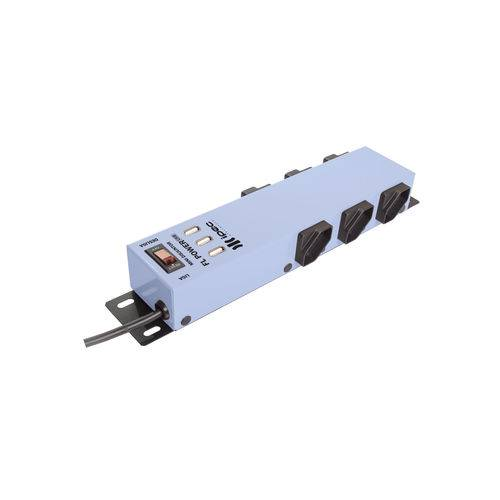 Filtro De Linha 6 Tomadas C/USB - Ipec (Azul)