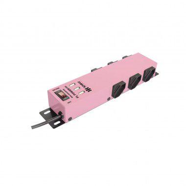 Filtro De Linha 6 Tomadas C/USB - Ipec (Rosa)