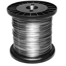 Fio de Aço Inox para Cerca Elétrica 0,45MM - 380Mts