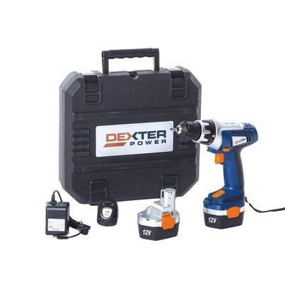 Furadeira Parafusadeira Sem Fio Dexter Power 12V
