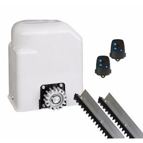 Kit Motor Deslizante Portão Eletrônico Peccinin Light Flash 127V