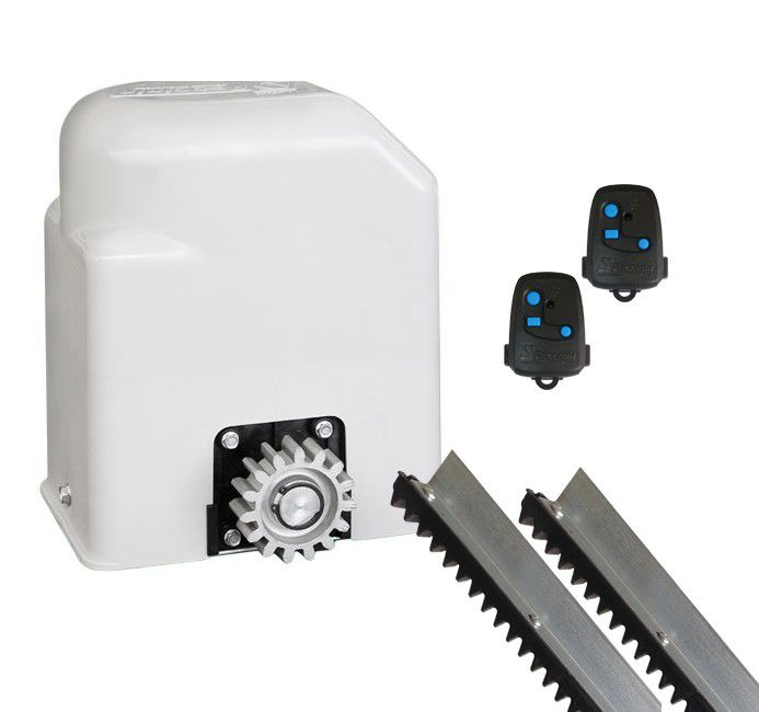 Kit Motor Portão Eletrônico Deslizante Light Flash Peccinin - 220V