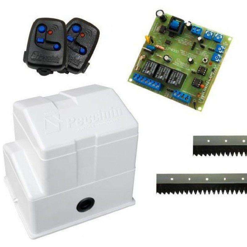 Kit Motor Portão Eletrônico Deslizante Super Flash Peccinin - 220V