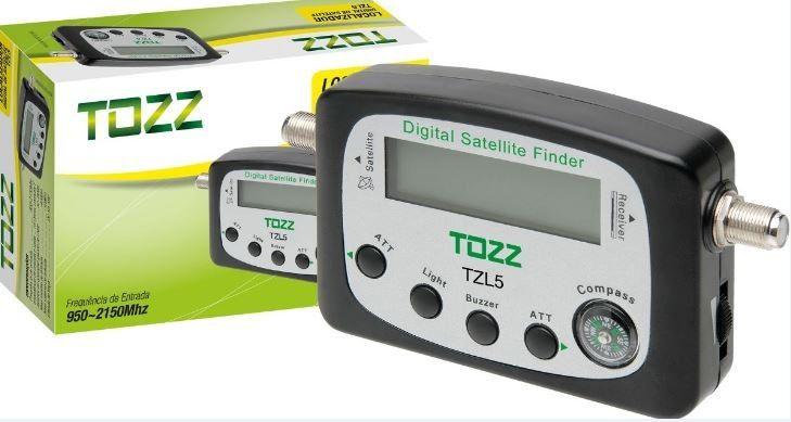 Localizador Digital de Satélite TZl5 Tozz