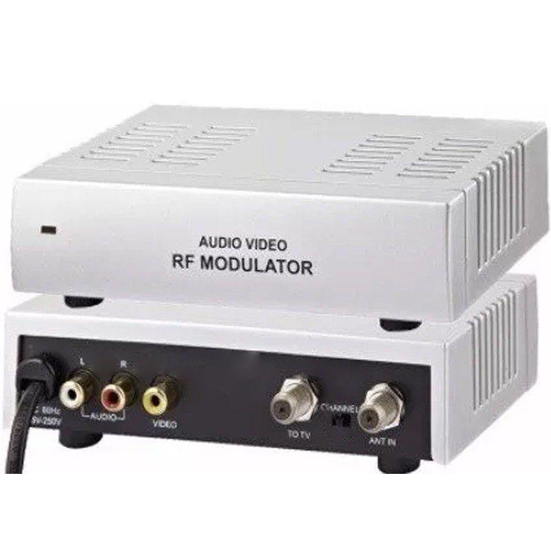 Mini Modulador Áudio e Vídeo - Chipsce