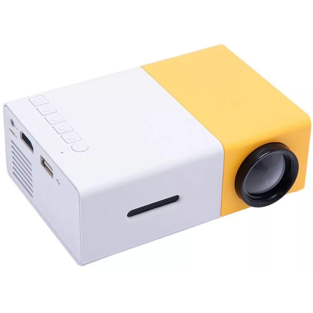 Mini Projetor Portátil Led 600 Lumens Full Hd