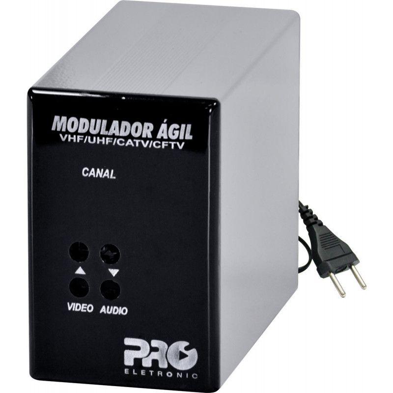 Modulador Agil VHF/UHF/CATV/CFTV