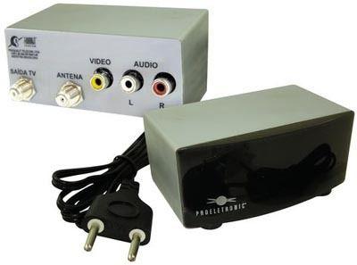 Modulador Áudio e Vídeo  Proeletronic PQMO2200