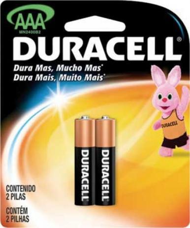 Pilha Palito Duracell  C/2