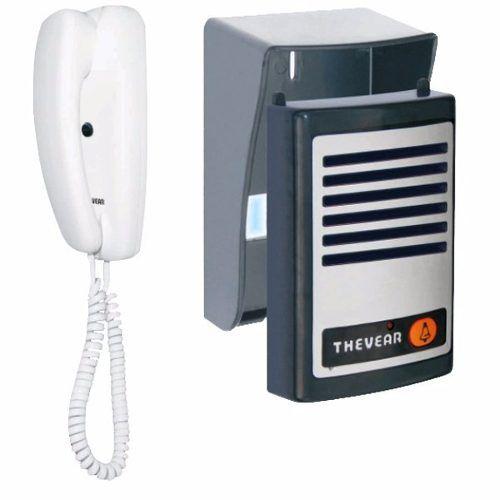 Porteiro Eletrônico Interfone Thevear Nr20 02 Fios Bivolt