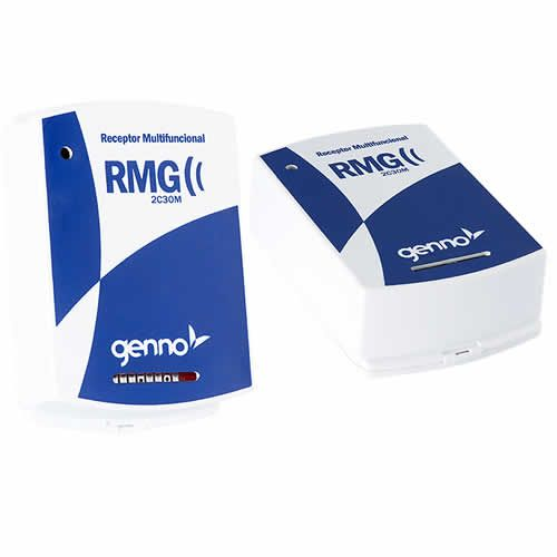 Receptor Genno  Multi Funcional 2 Canais 433Mhz