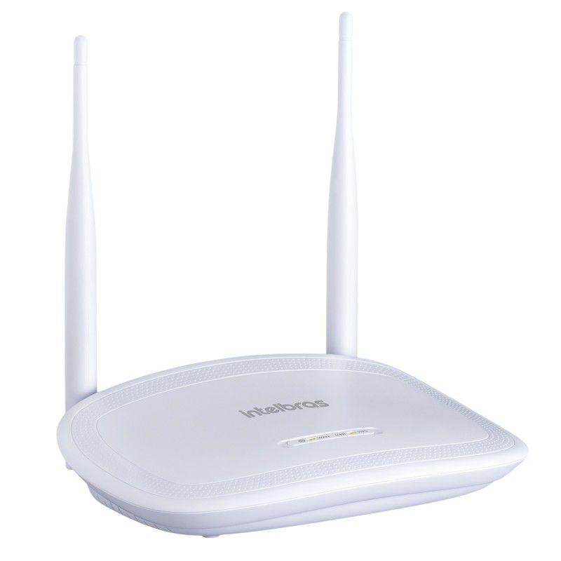 Roteador Wi Fi Intelbras  N 300 MBPS IPV6 IWR 3000