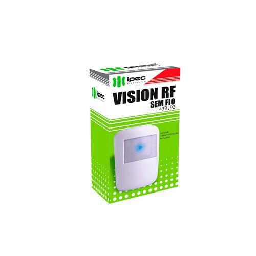 Sensor Passivo Sem Fio Para Uso Interno - IPEC 433,92 Mhz