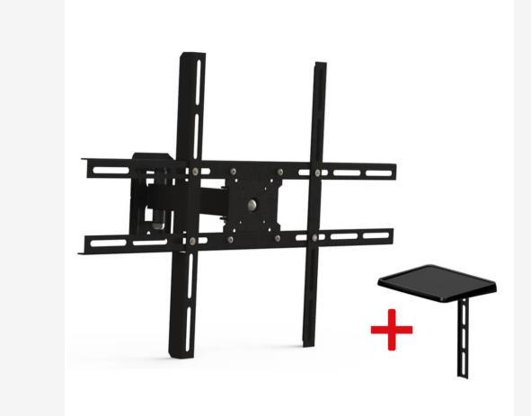 "Suporte Articulado para TV LCD / Plasma 10-70"" Brasforma SBRP 430"