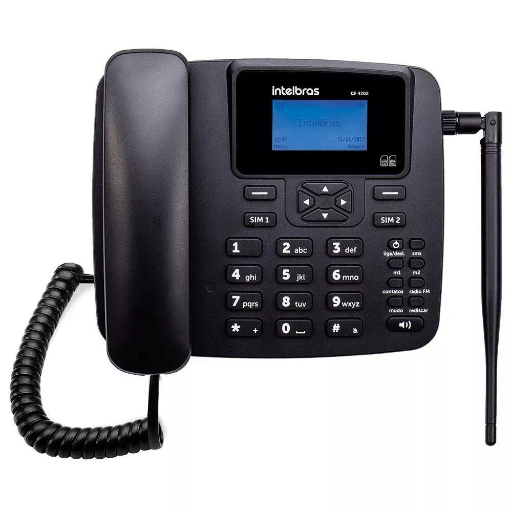 Telefone Celular Fixo 3G Intelbras CF 6031