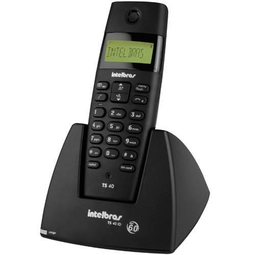 Telefone Sem Fio com ID - Intelbras  TS40