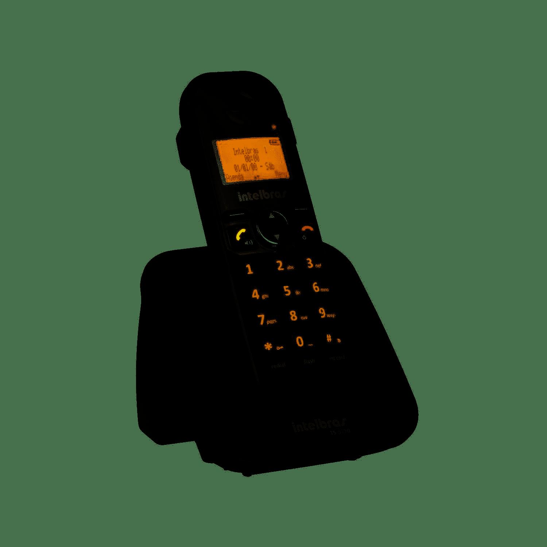 Telefone Sem  Fio Intelbras TS 5120 (Preto)