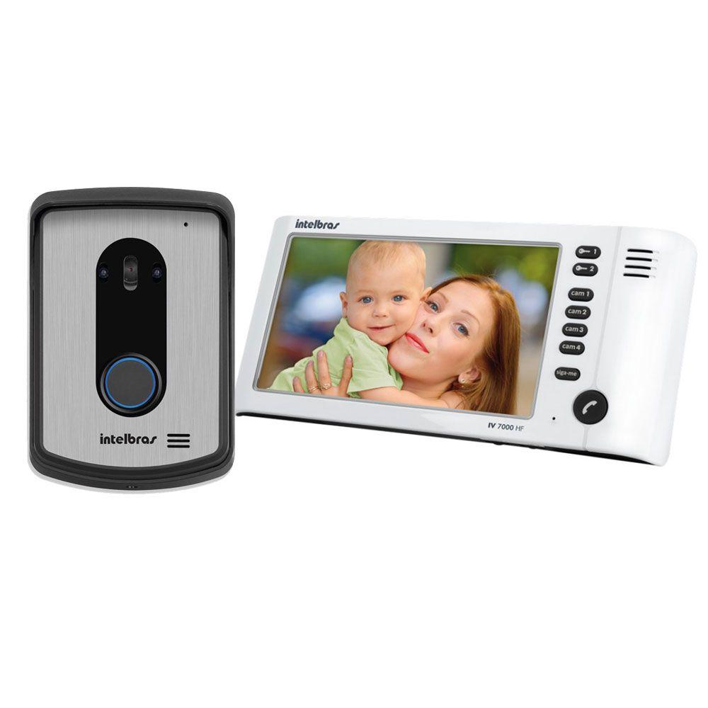 Vídeo Porteiro LCD Color Intelbras IV 7010 HF