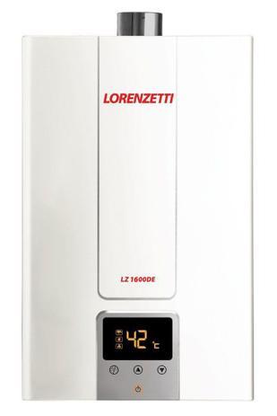 Lorenzetti Aquecedores de Água - LZ 1600DE - 15 litros- LANÇAMENTO