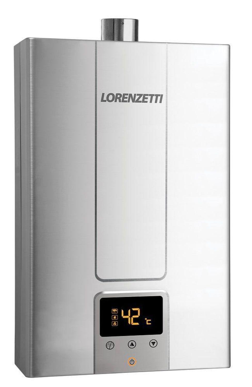 Lorenzetti Aquecedores de Água - LZ 1600DE-I INOX - 15 litros