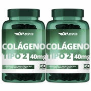 2x Colágeno Tipo 2 (CT-II) 40mg Com 60 Cápsulas Gelatinosas
