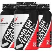 3x ZMA GH Testo Pro Força Muscular com 30 cápsulas Body