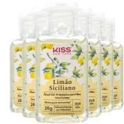 6x Álcool em Gel 70% Antisséptico para Mãos 26g Limão