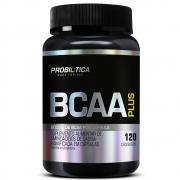 BCAA Plus 800mg por cápsula com 120 cápsulas Probiótica