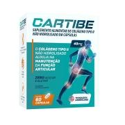 Cartibe Colágeno Tipo 2 40mg com 60 cápsulas