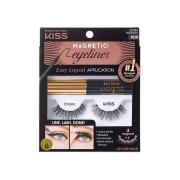 Cílios Magneticos com Delineador Kiss Magnetic Eyeliner k07