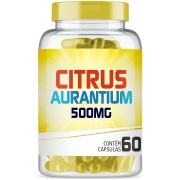 Citrus Aurantium 500mg com 60 cápsulas Acelera Metabolismo