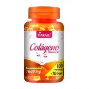 Colageno com Vitamina C 1000mg com 110 cápsulas Tiaraju