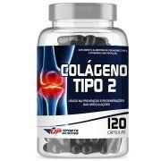 Colágeno Tipo 2 40mg com 120 cápsulas - Contra Dores Articulares