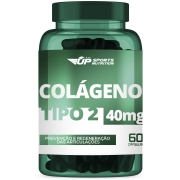 Colágeno Tipo 2 (CT-II) 40mg Com 60 Cápsulas Gelatinosas