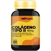 Colágeno Tipo II 40mg com 60 cápsulas Contra Dor Articular