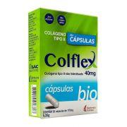 Colflex Bio 40mg com 30 cápsulas Colágeno Tipo II Não Hidrolisado
