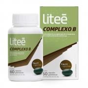 Complexo B 250mg com 60 cápsulas gelatinosas Litee