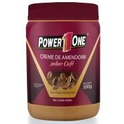 Creme de Amendoim Power 1 One 500g Sabor Café