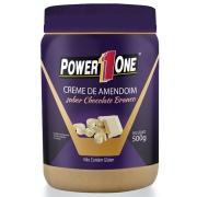 Creme de Amendoim Power 1 One 500g Sabor Chocolate Branco