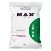 Dextrose Carboidrato em pó 1kg Max Titanium
