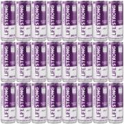 Energético Life Strong Energy Drink 24 unidades Sabor Açai