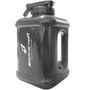 Galão Garrafa Água Bebida Academia 1,6 Litros Preto